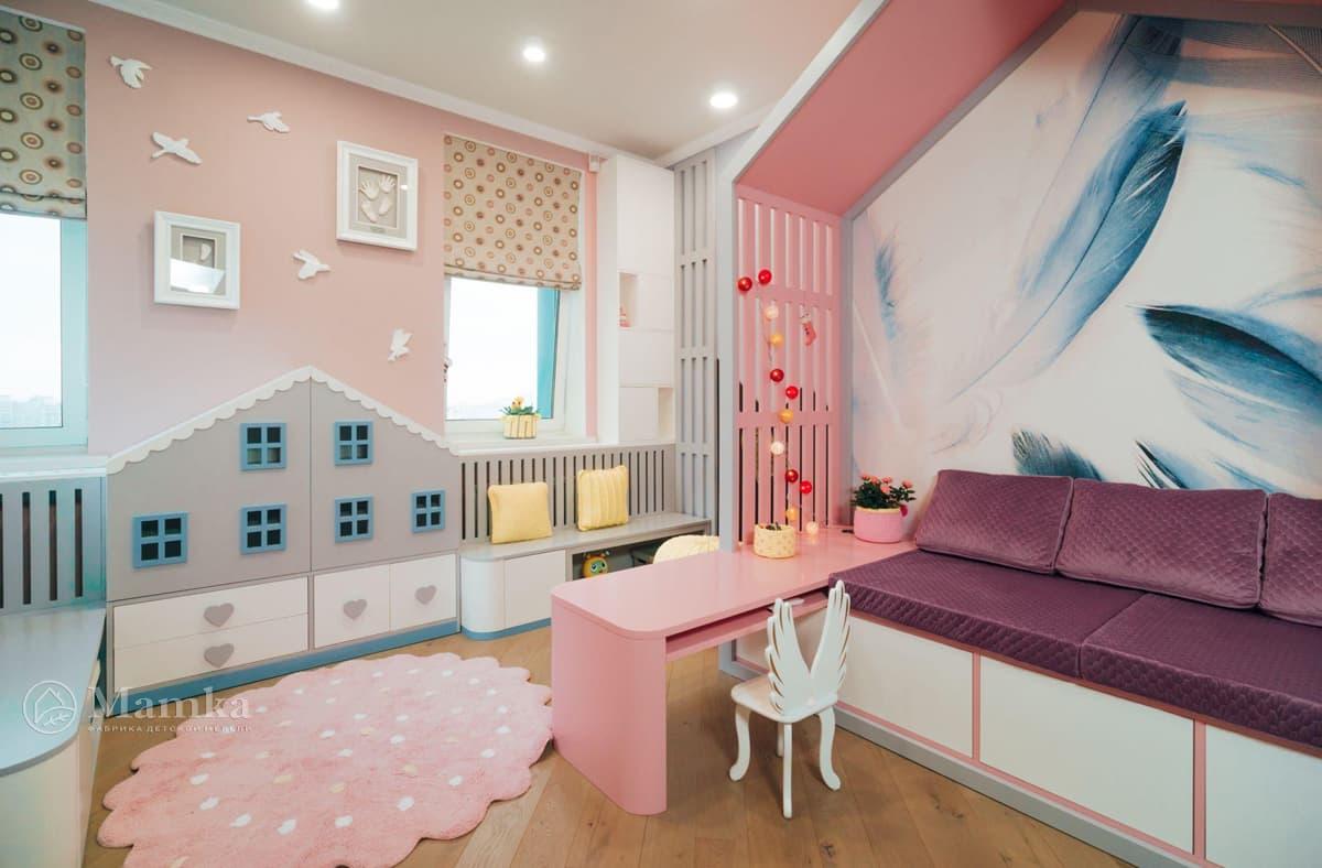 Дизайн детской комнаты живое фото 4