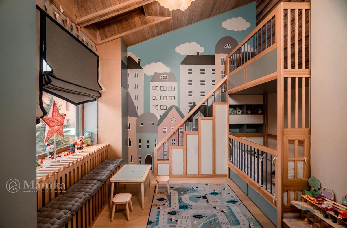 Дизайн детской комнаты живое фото 7