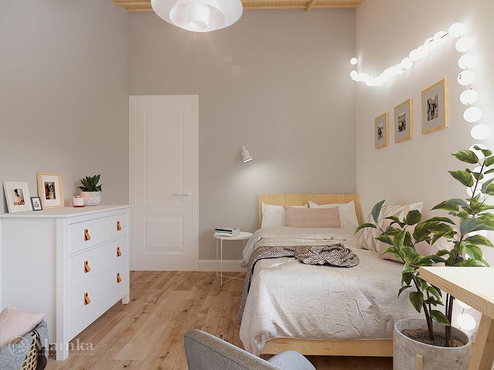 Дизайн детской комнаты с большой игровой зоной 4