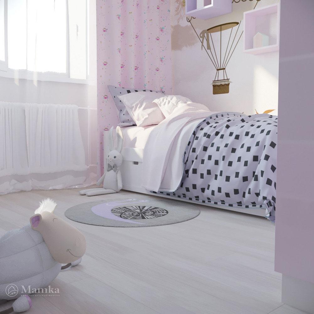 Дизайн детской комнаты для девочки с ноткой волшебства 2