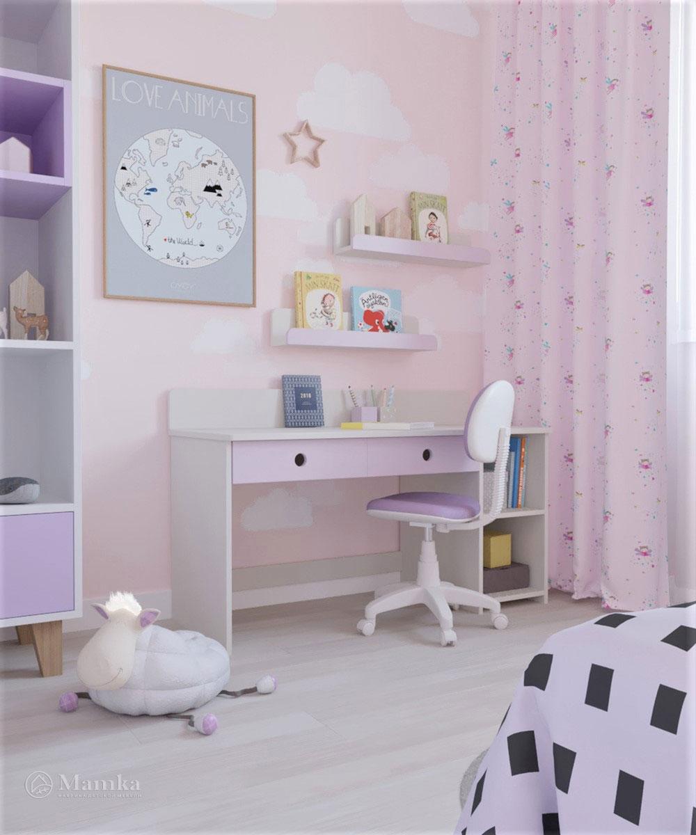 Дизайн детской комнаты для девочки с ноткой волшебства 3