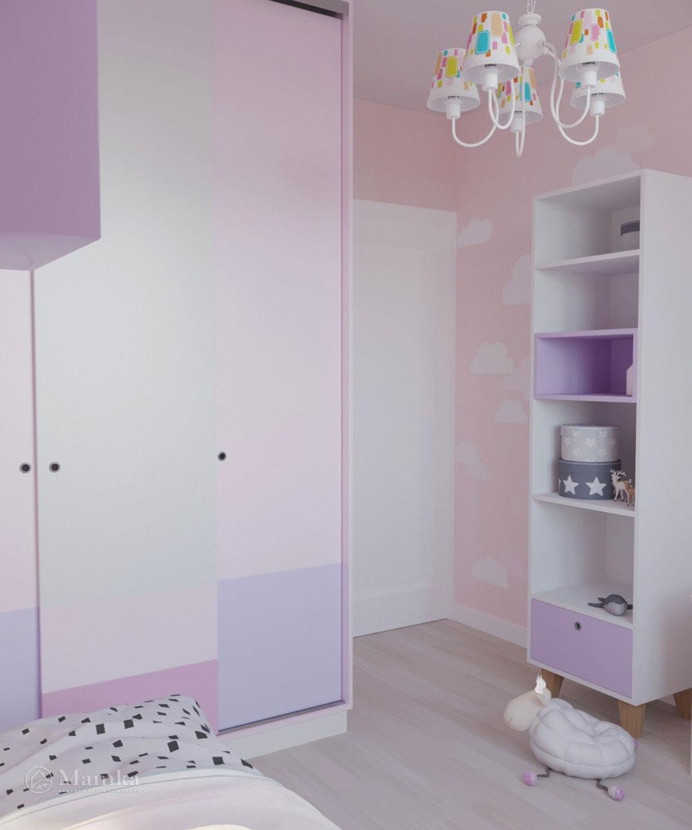 Дизайн детской комнаты для девочки с ноткой волшебства 4