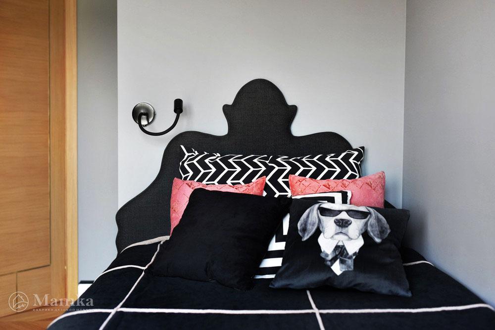 Дизайн детской комнаты для девочки в модных сдержанных тонах 6