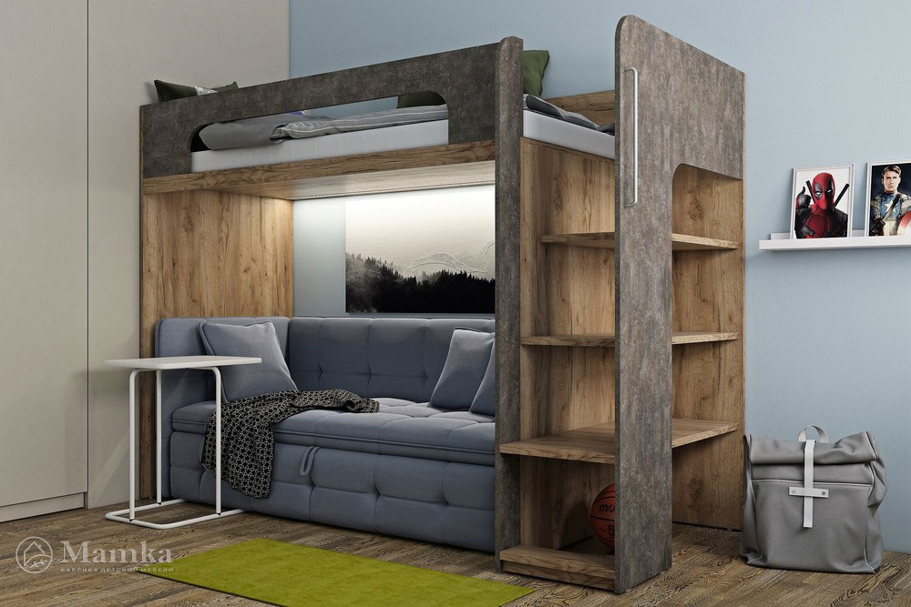 Модели двухъярусных кроватей в нашей фотоподборке | 667x1000