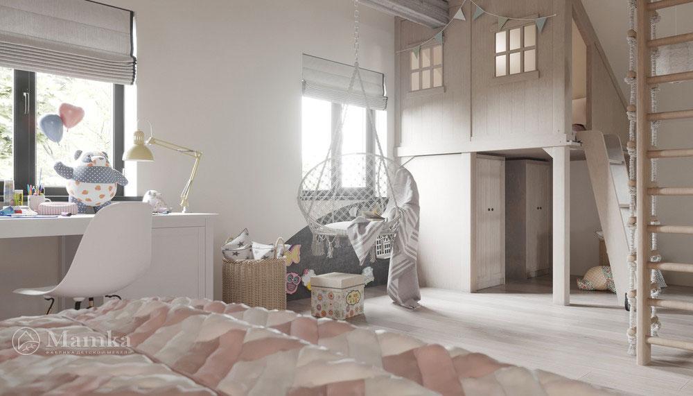 Дизайн детской комнаты с тематическим оформлением 3