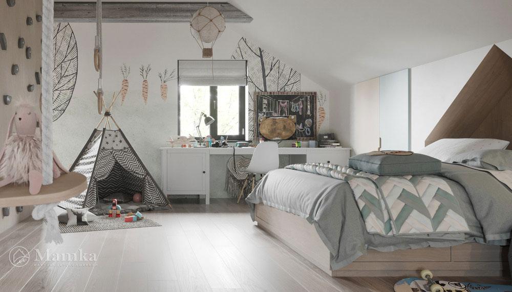 Дизайн детской комнаты с тематическим оформлением 4
