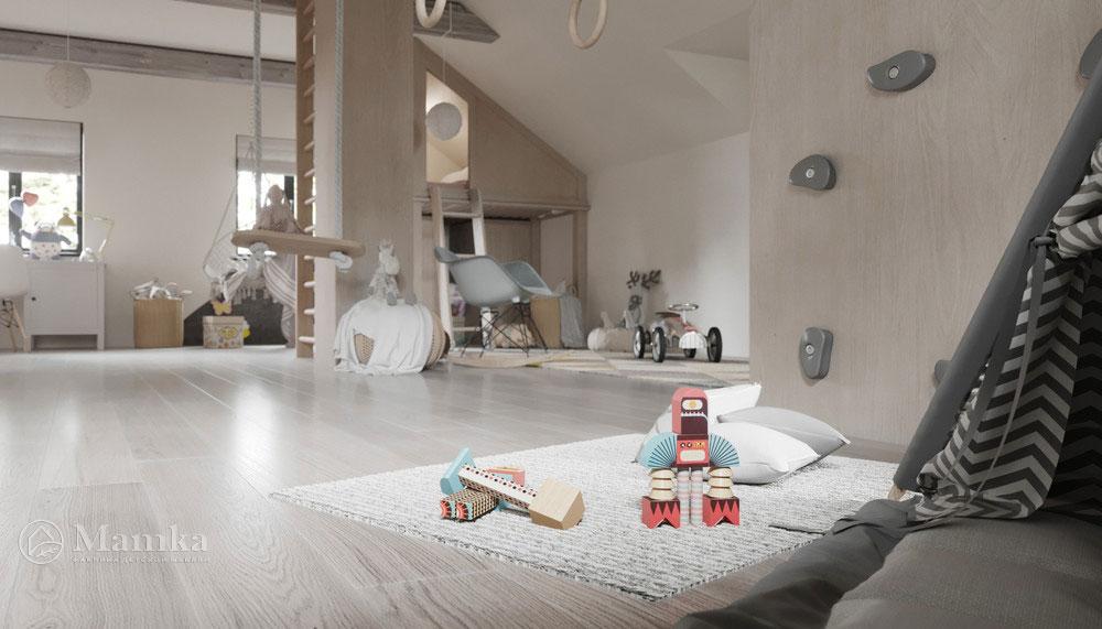 Дизайн детской комнаты с тематическим оформлением 6
