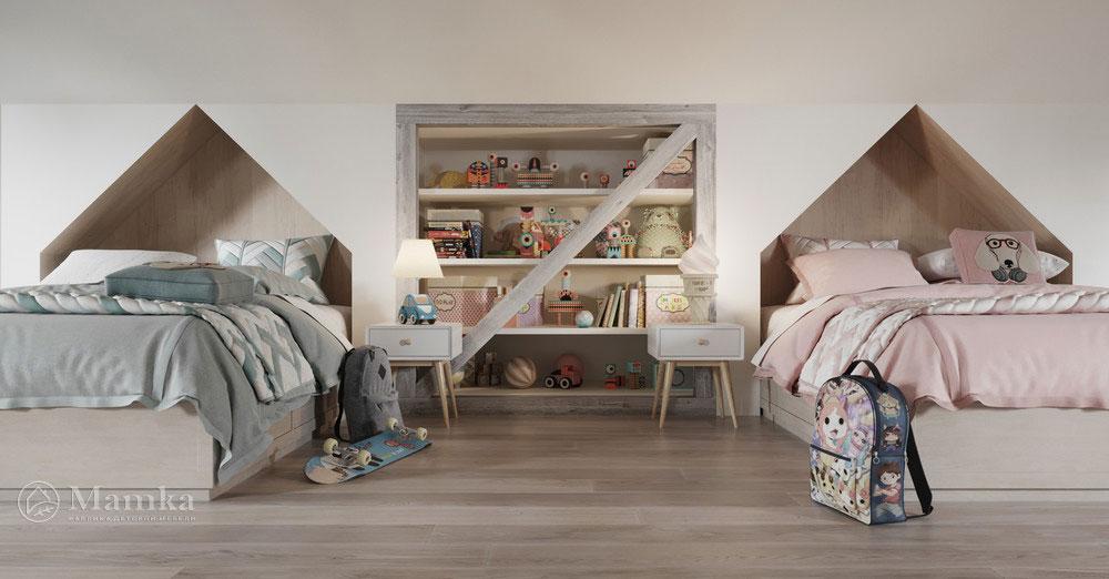 Дизайн детской комнаты с тематическим оформлением 7