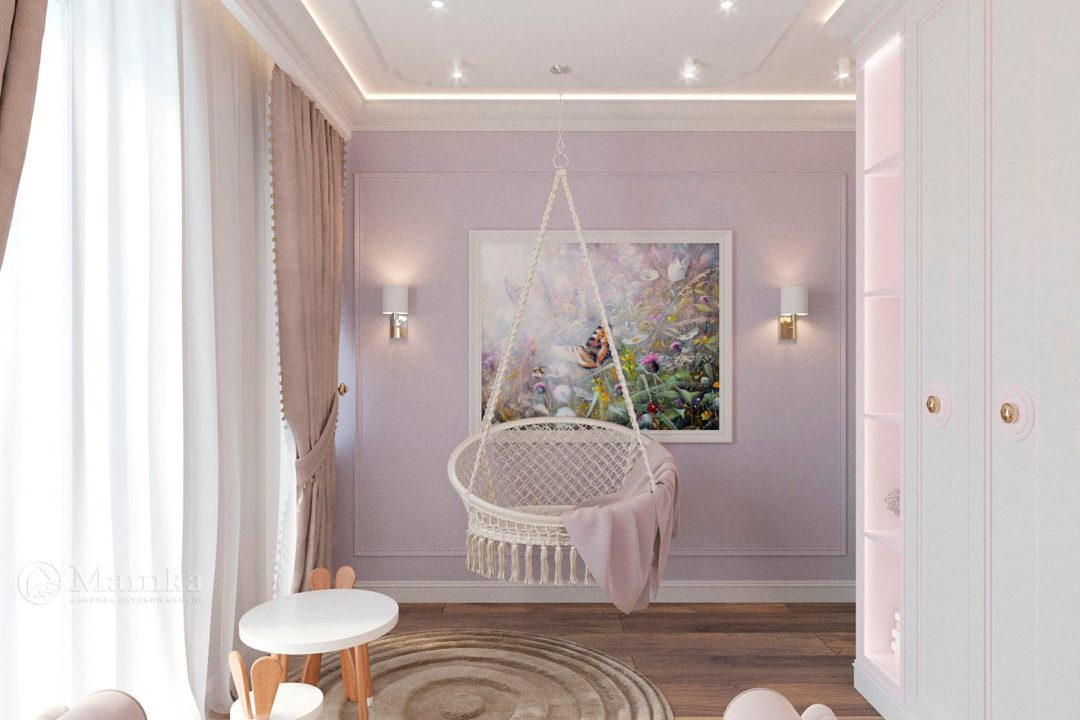 Дизайн детской комнаты фото 5-7
