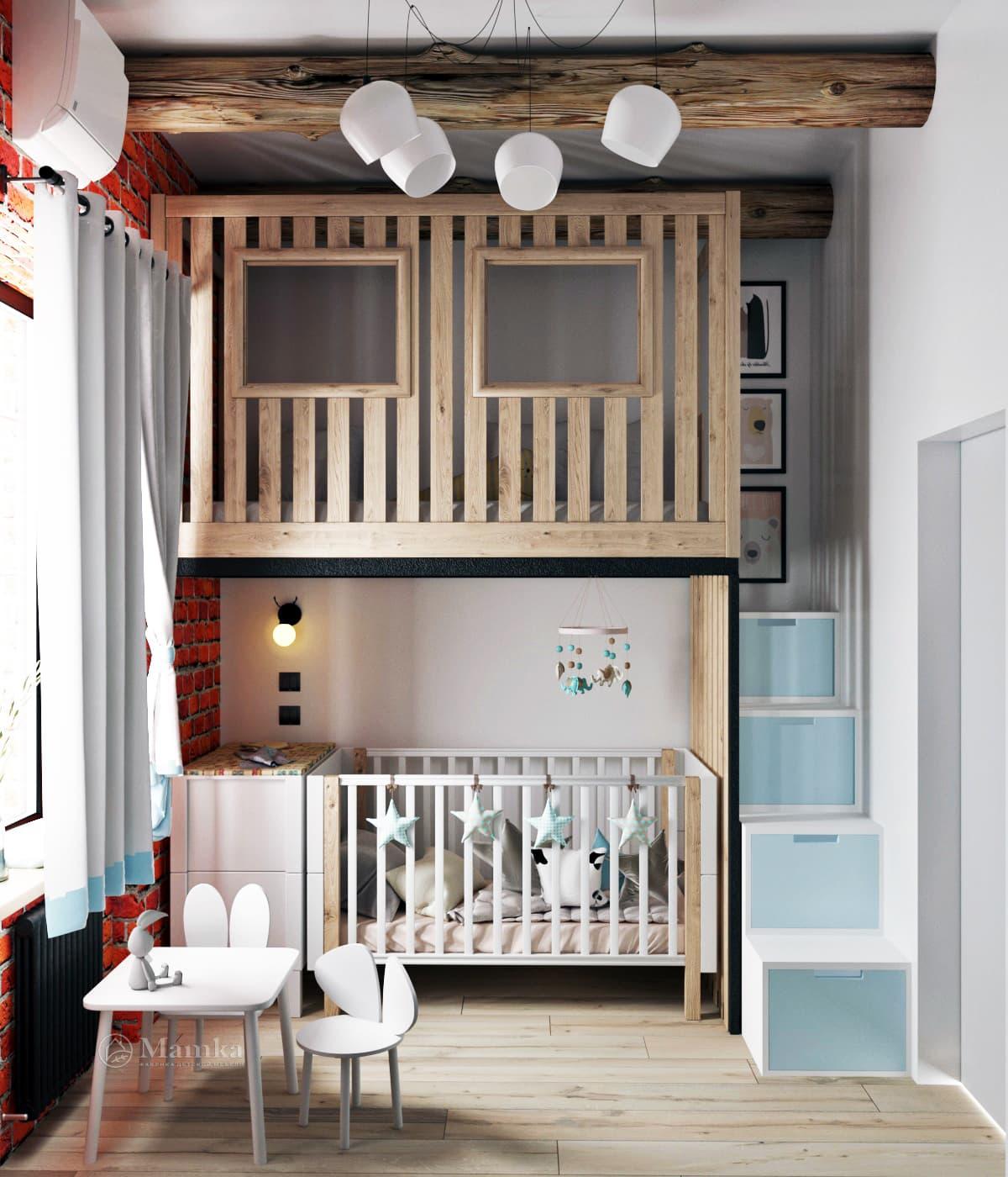 Дизайн детской для мальчика фото 1-3