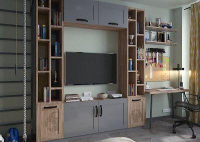 Современный дизайн комнаты подростка в спортивном стиле