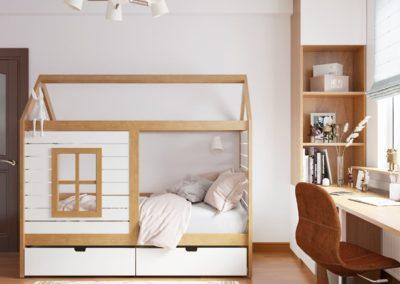 Гармоничный дизайн интерьера комнаты для мальчика