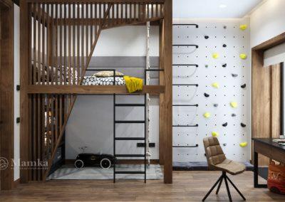 Дизайн детской для мальчика 3065