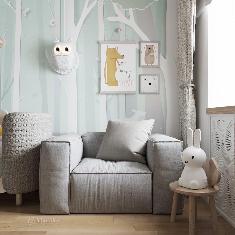 Дизайн детской для мальчика фото 21-4