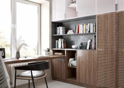 Дизайн комнаты для мальчика в нейтральных оттенках