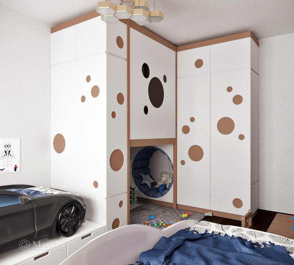 Дизайн детской для мальчика фото 24-1