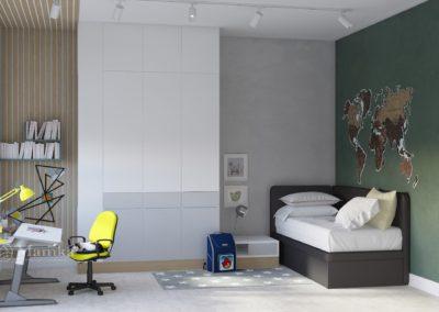 Дизайн интерьера комнаты для мальчика школьного возраста