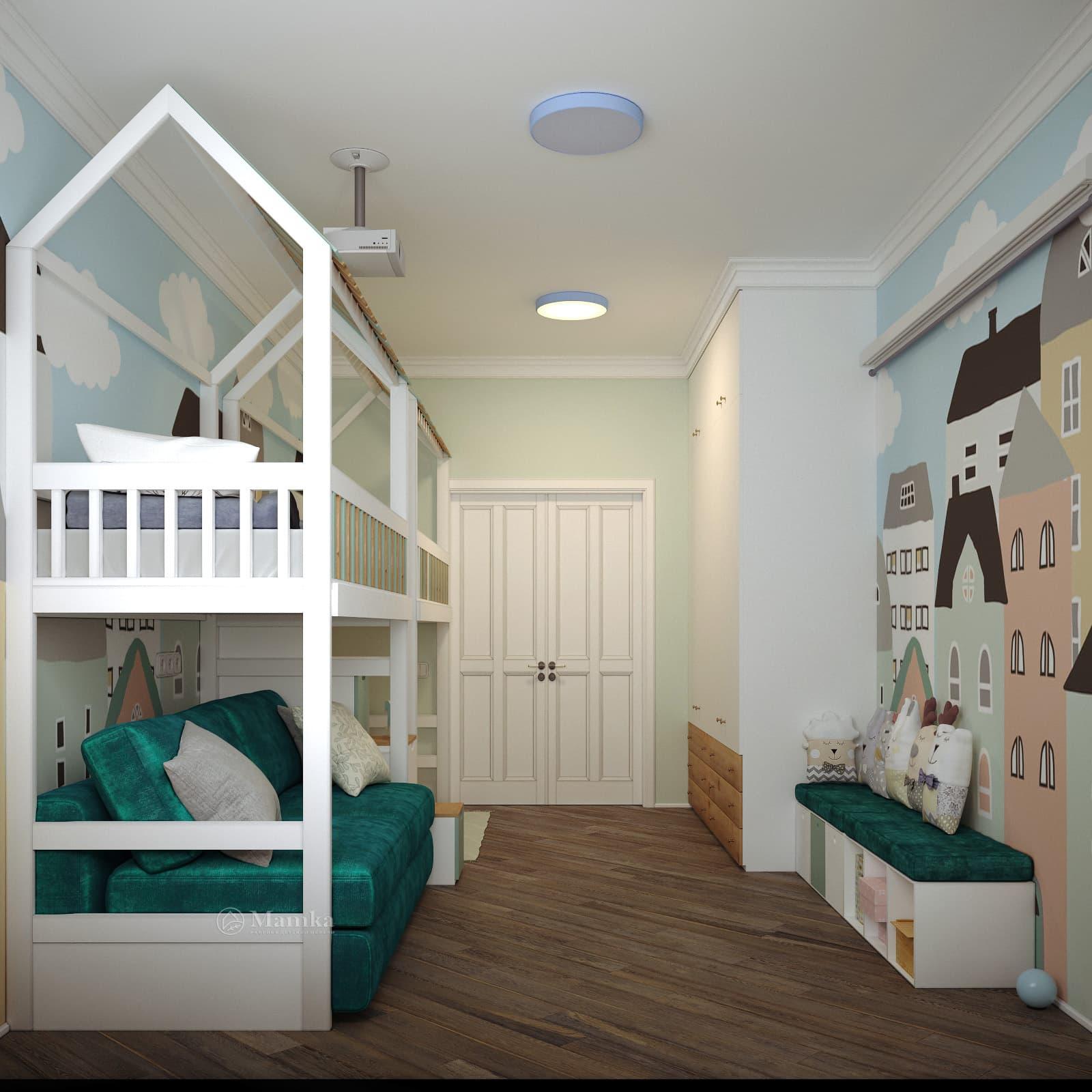 Дизайн детской для мальчика фото 26-3