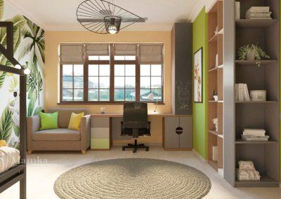 Интерьер комнаты для мальчика в нейтральном стиле