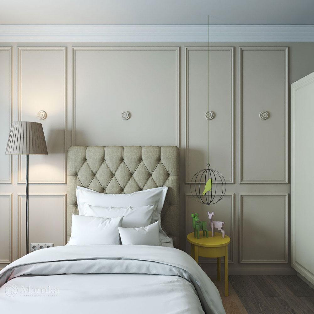 Дизайн детской спальни с элегантной классической ноткой 3