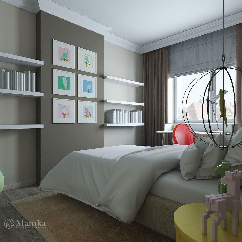 Дизайн детской спальни с элегантной классической ноткой 4
