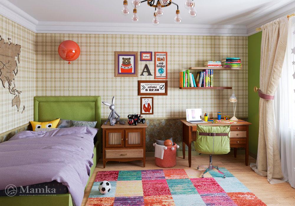 Дизайн интерьера детской для мальчика 1