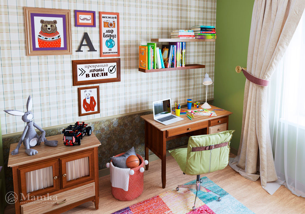 Дизайн интерьера детской для мальчика 3
