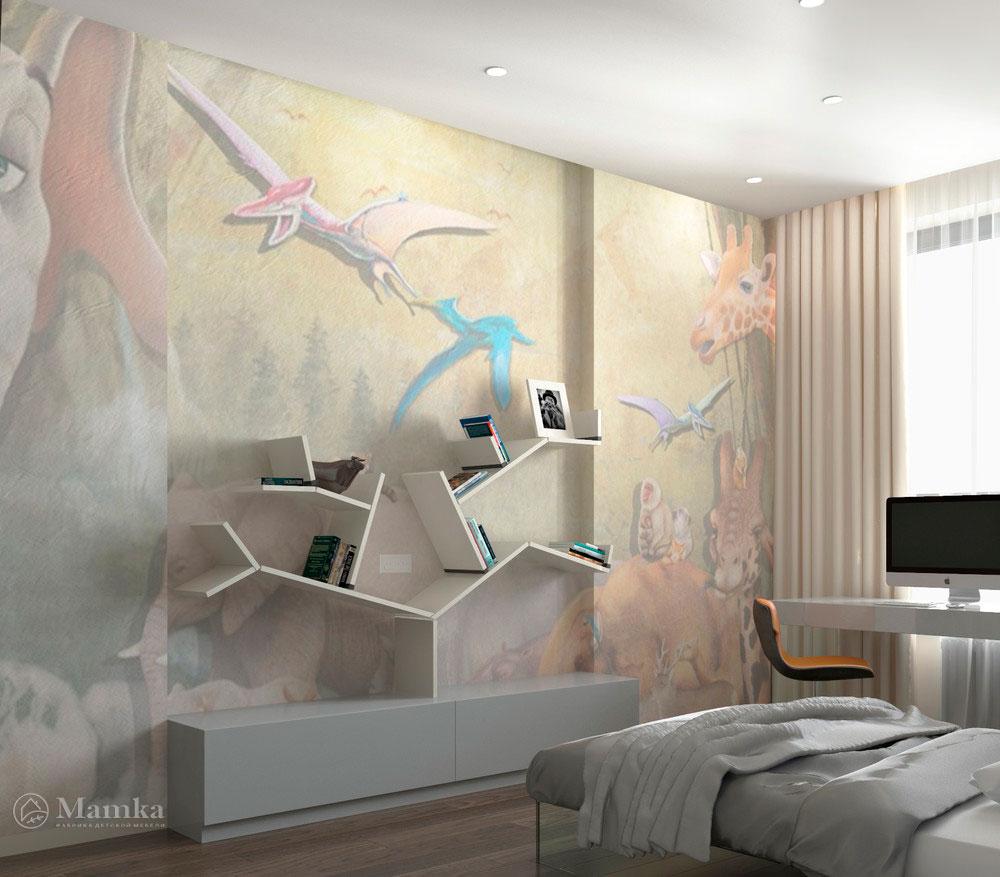 Дизайн интерьера детской для мальчика в стиле минимализм 1