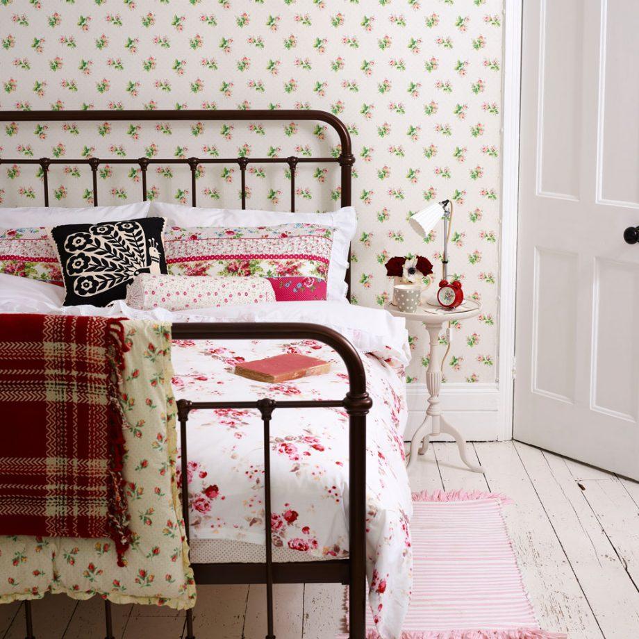 Дизайн комнаты для девочки-подростка в стиле кантри