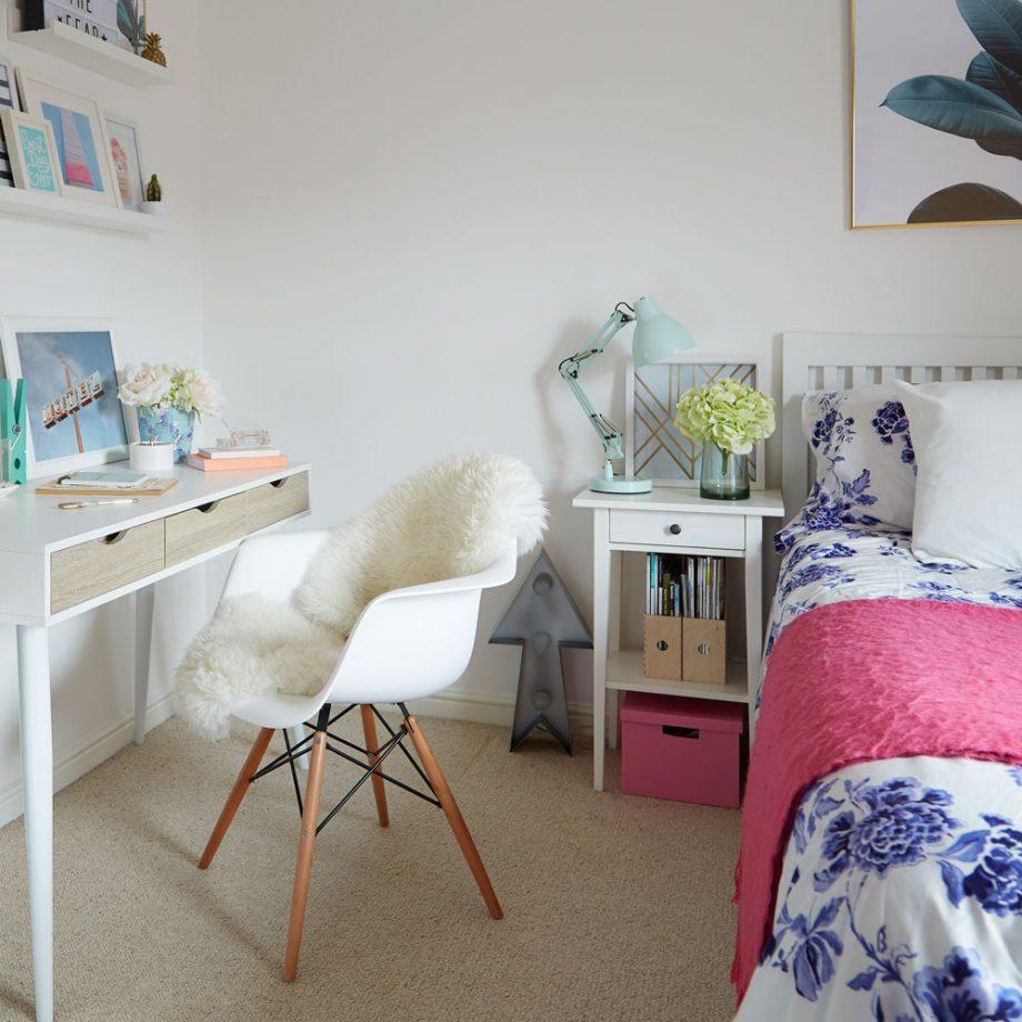 Дизайн комнаты для девочки-подростка - пример 8