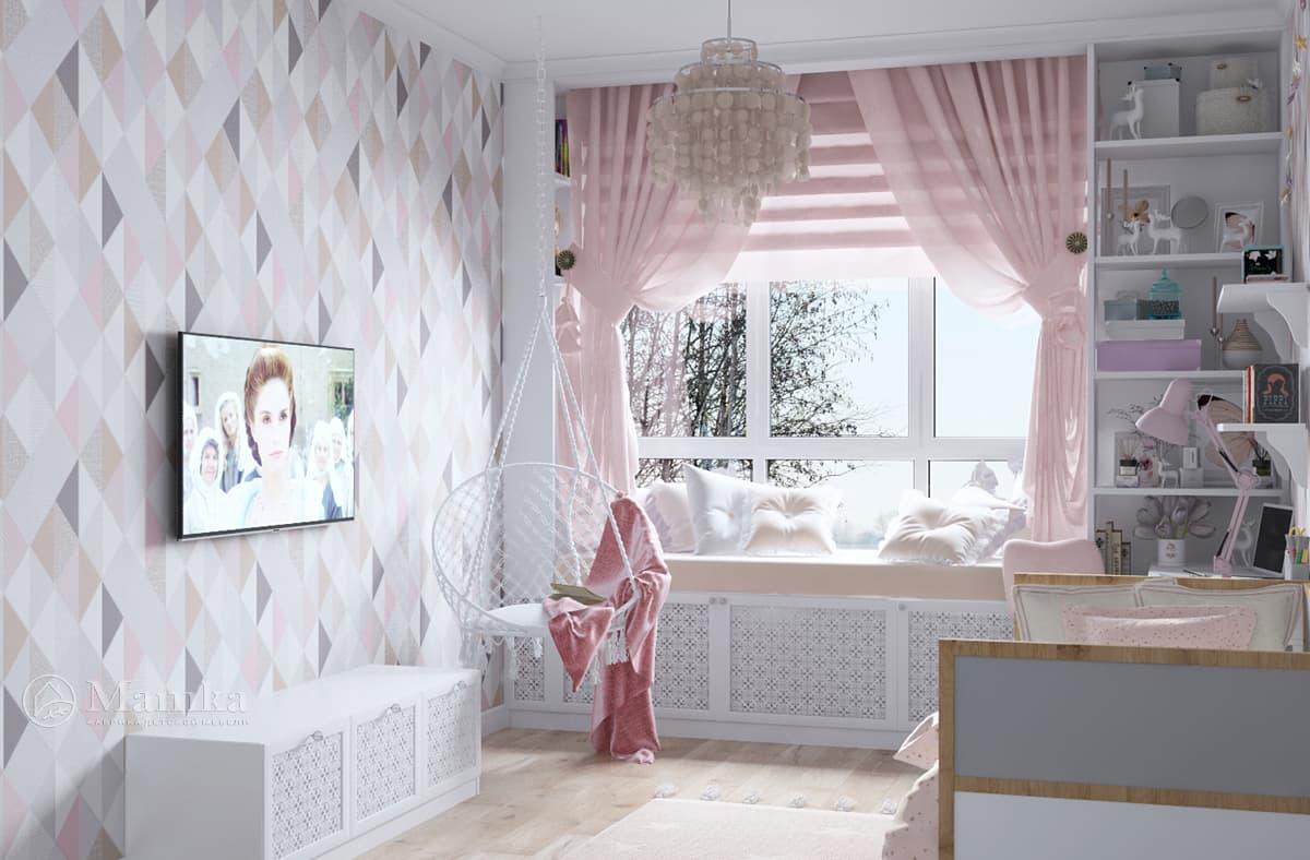 Дизайн-проект детской комнаты фото 1
