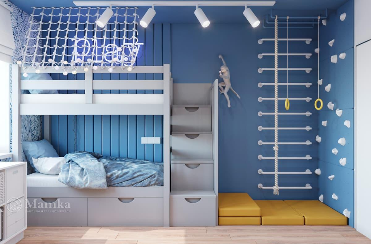 Дизайн-проект детской комнаты фото 10