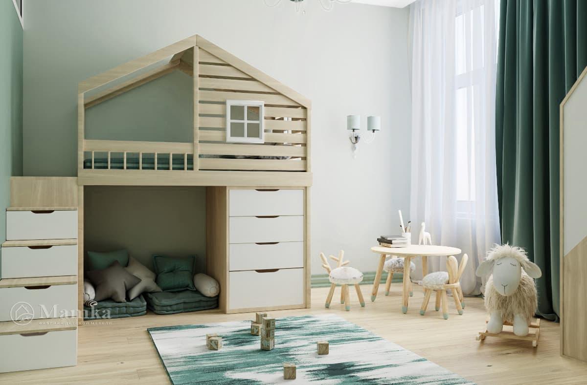 Дизайн-проект детской комнаты фото 2