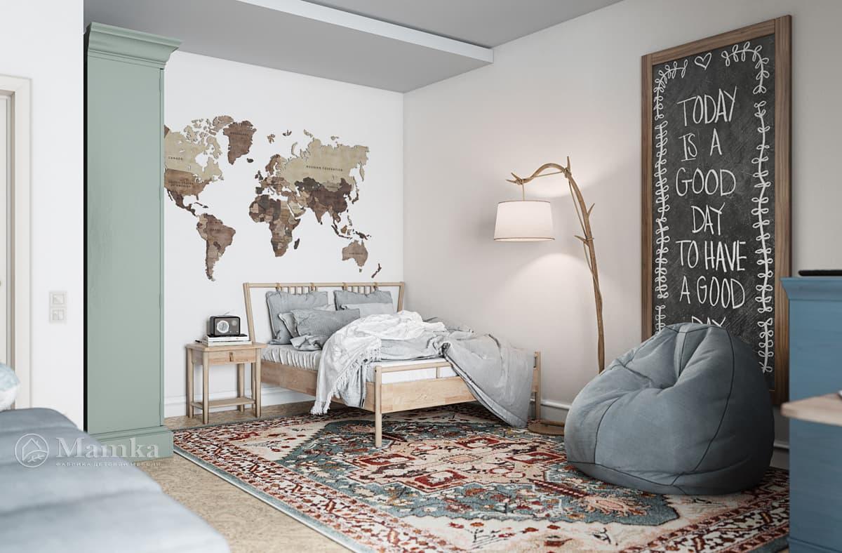 Дизайн-проект детской комнаты фото 3