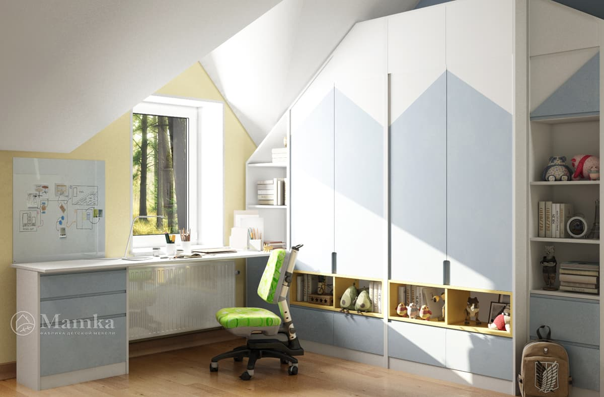 Дизайн-проект детской комнаты фото 5