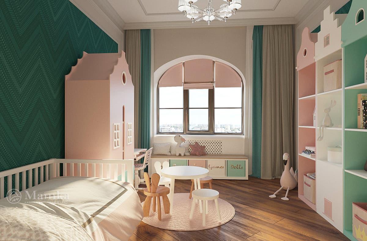 Дизайн-проект детской комнаты фото 6