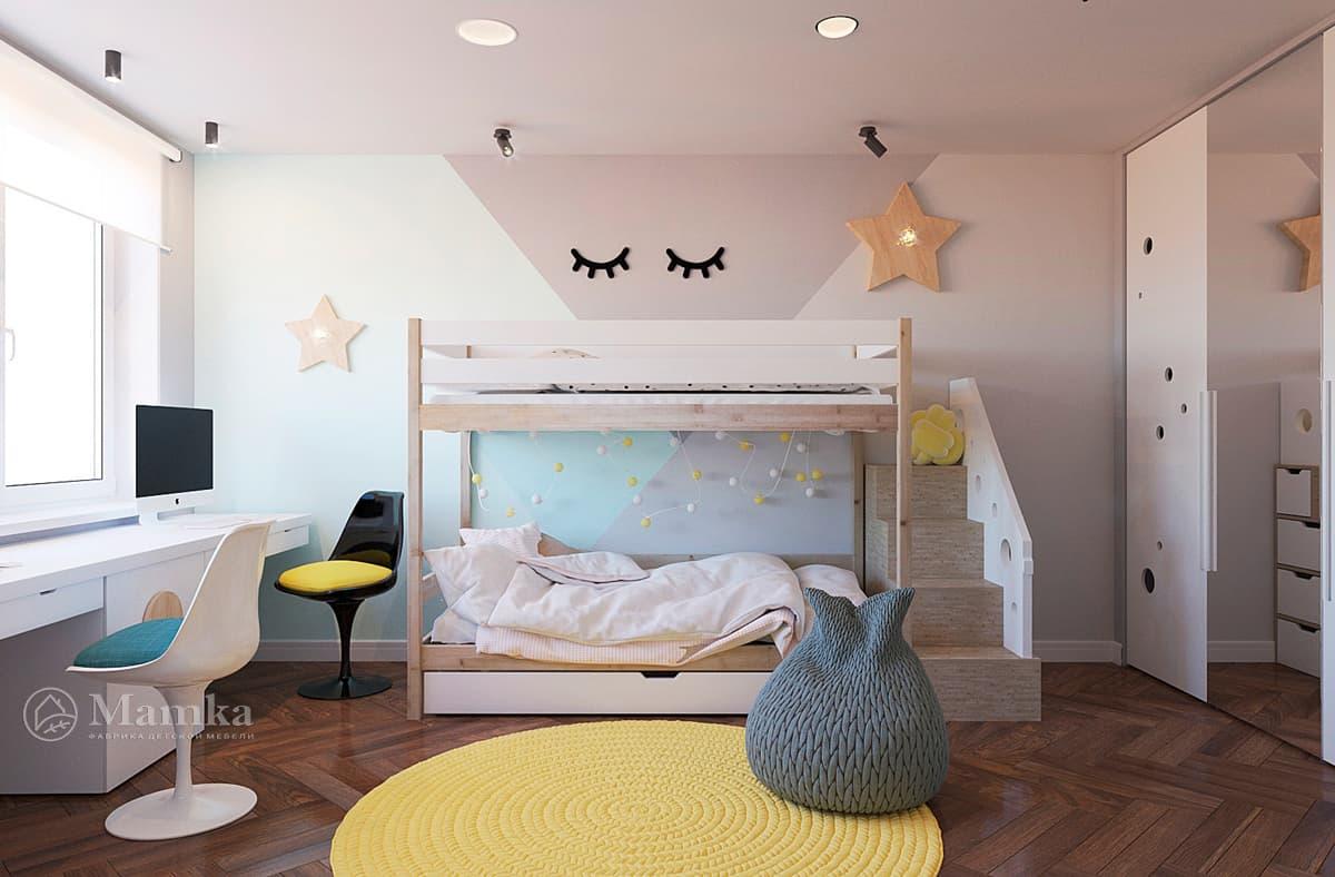 Дизайн-проект детской комнаты фото 7