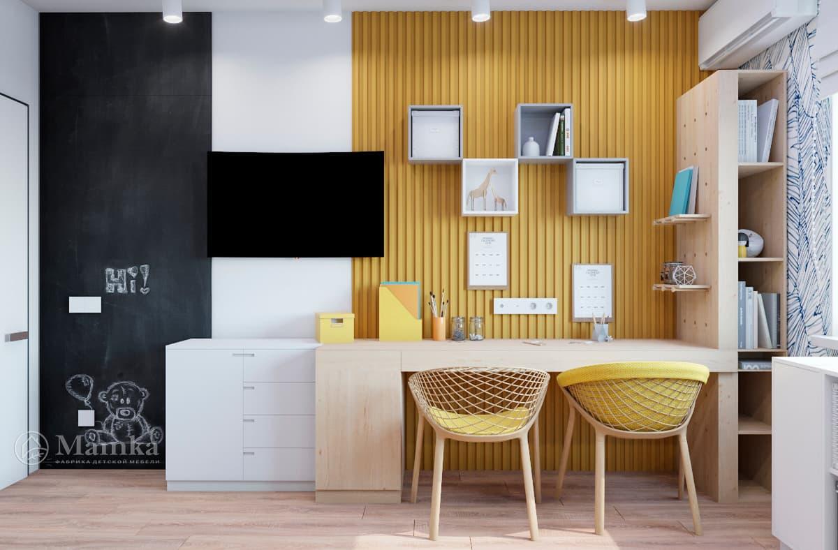 Дизайн-проект детской комнаты фото 8