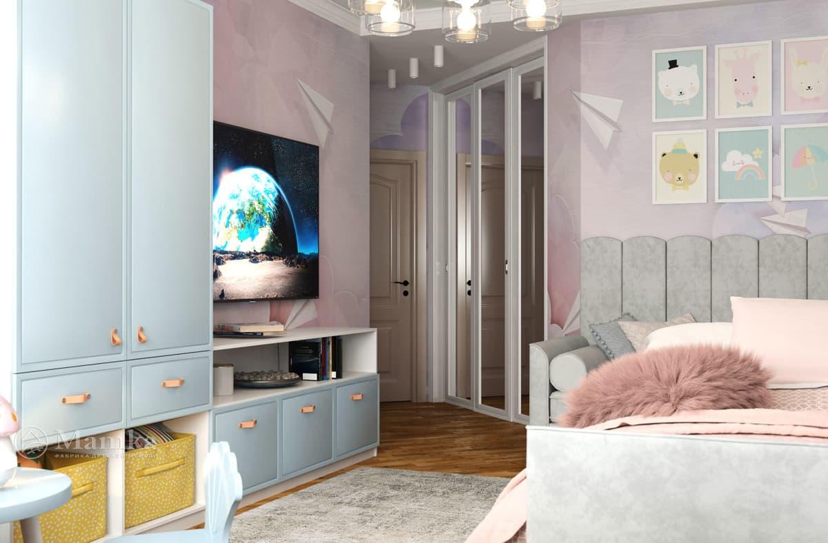 Дизайн-проект детской комнаты фото 9