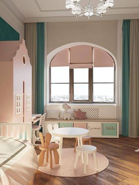 Дизайн детской комнаты фото 6-1-1