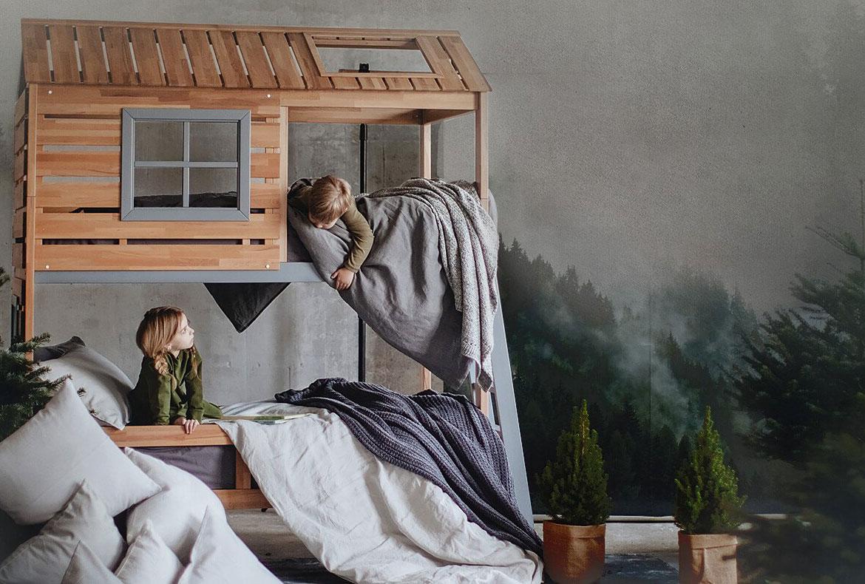 Дизайнерские кровати домики Mamka™ фото