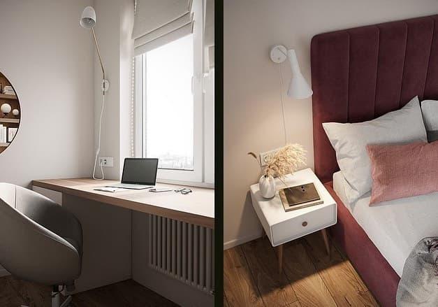 Эксклюзивный интерьер маленькой детской комнаты в Москве 3