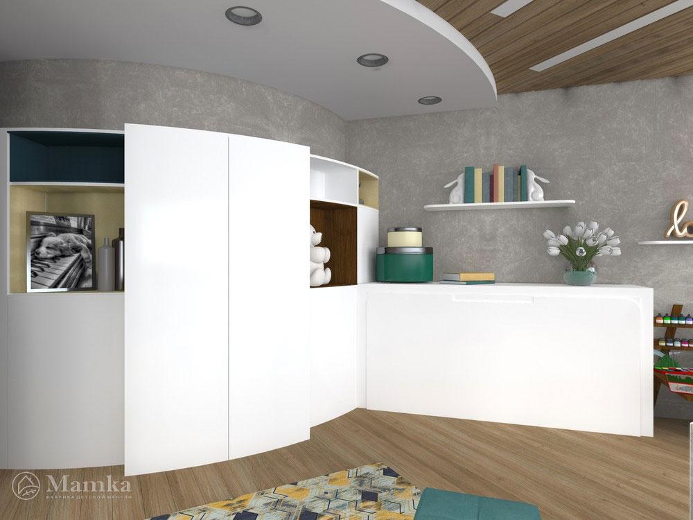 Гармоничный дизайн детской спальни для девочки 4
