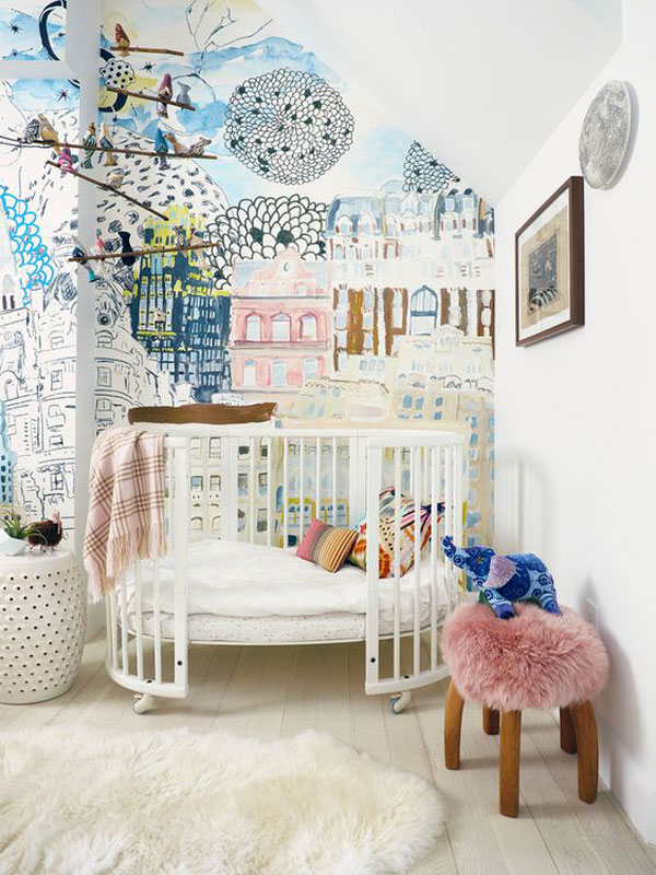 Дизайнерский интерьер детской - фото 4
