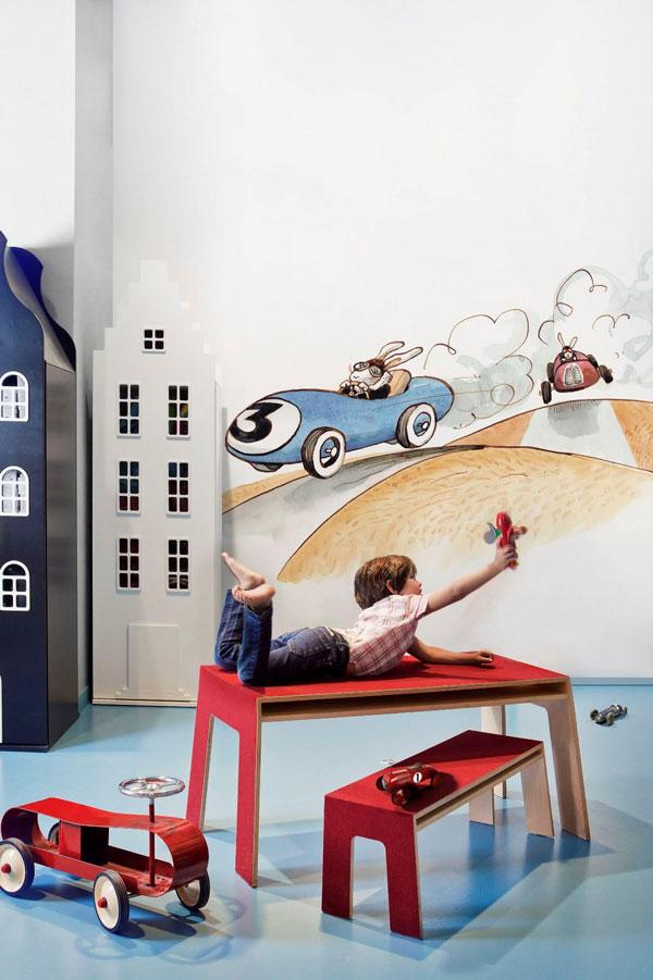 Дизайнерский интерьер детской - фото 3