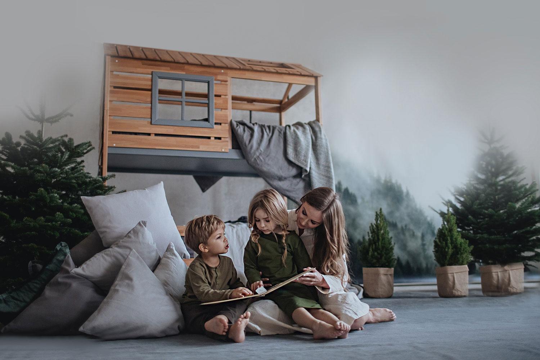 Кровати домики Мамка - мебель которая объединяет семью