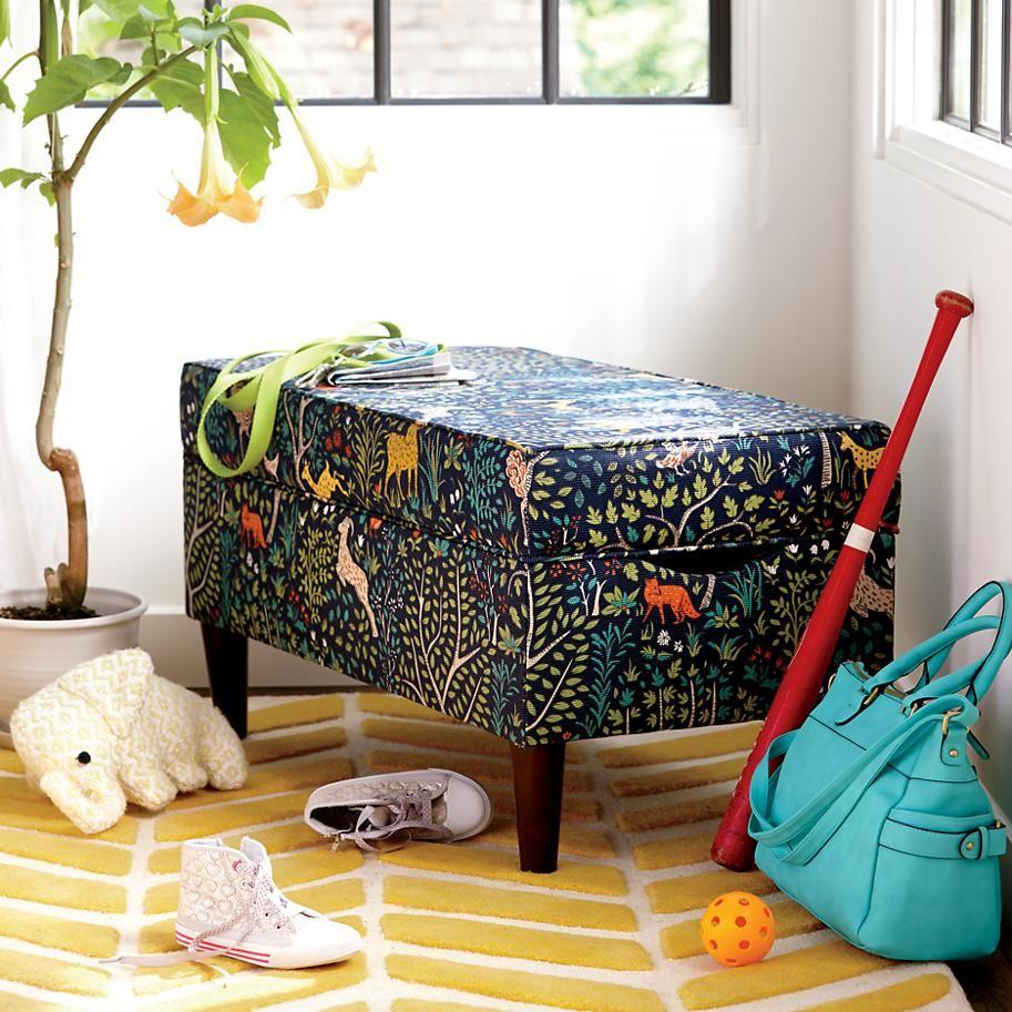 Порядок в детской: игрушки убирать перед сном