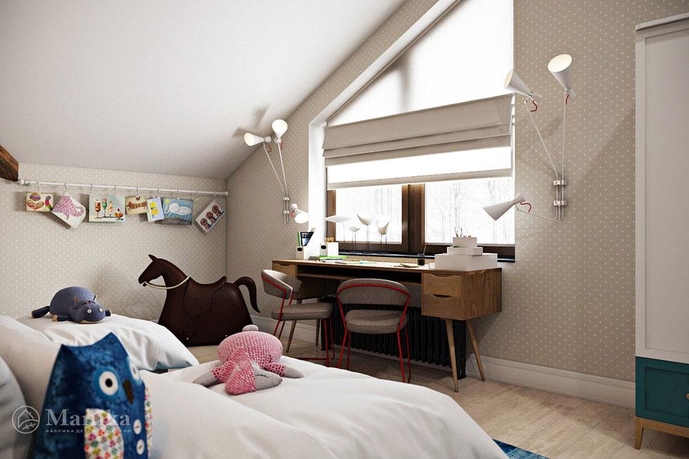 Идеи детских комнат для двух девочек 5