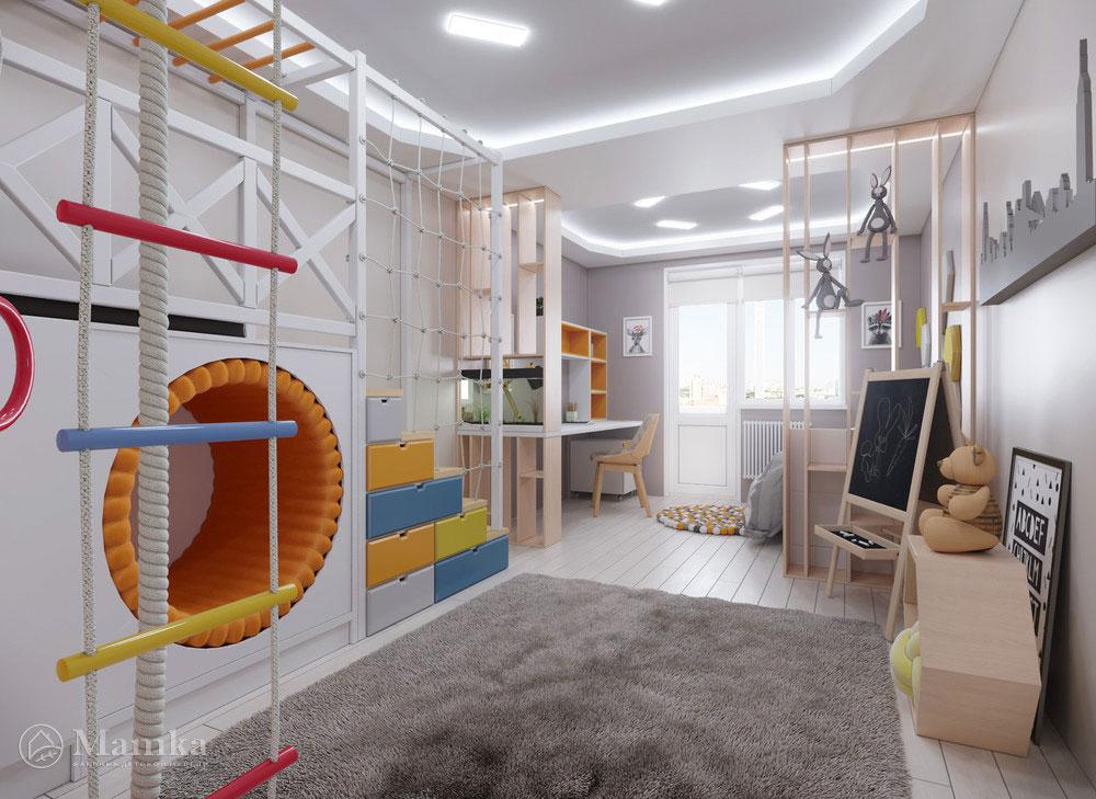 Интересные идеи для детской для активного ребенка 1