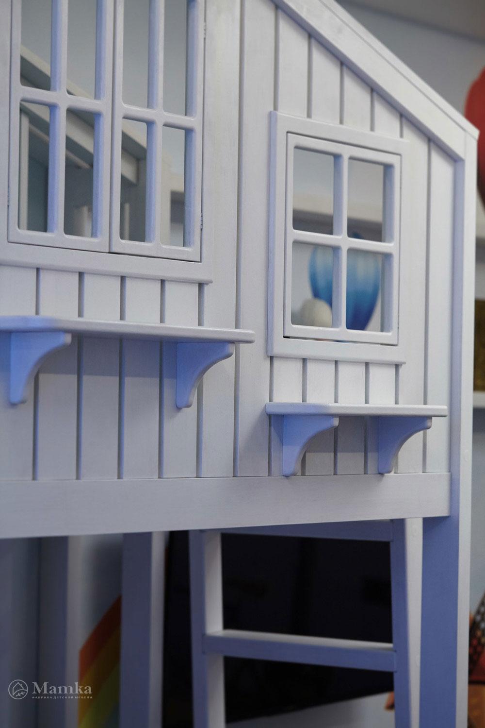 Идеи детской комнаты для девочки с необычной мебелью 10